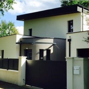Construction de maisons modernes à étages à Angers Maine et Loire – Batibat